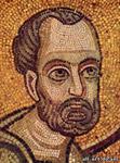 Апостол Симон(не точно), Фрагмент из Мозаики Евхаристия, Софийский Собор