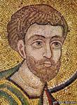 Апостол Лука, Фрагмент из Мозаики Евхаристия, Софийский Собор
