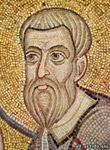 Апостол Матфей, Фрагмент из Мозаики Евхаристия, Софийский Собор