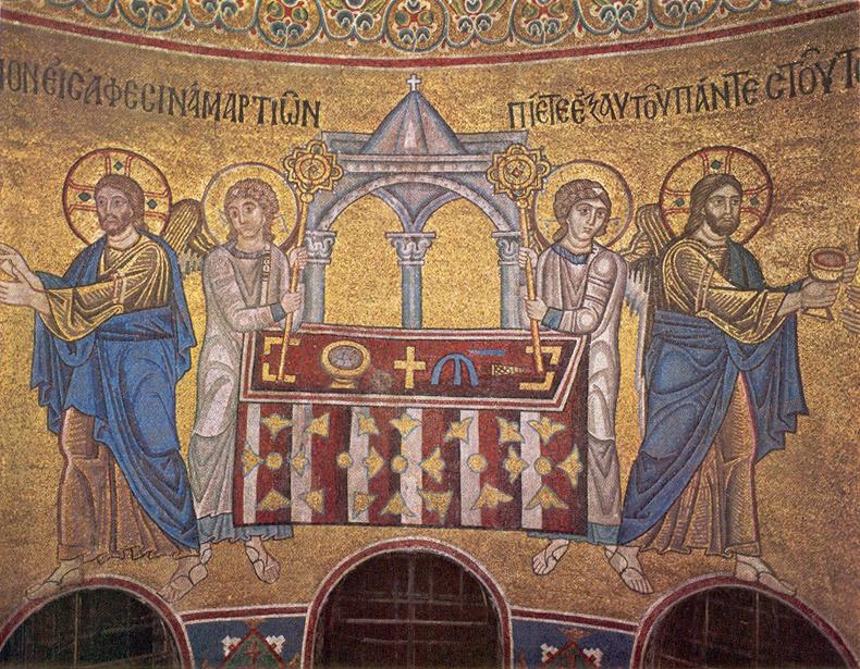 Мозаики и фрески софии киевской доклад 4362