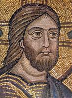 Мозаика Фрагмент Христос Софийский Собор