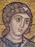Мозаика Фрагмент Ангел Софийский Собор