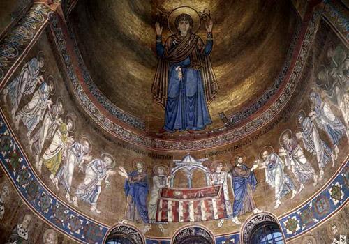Главный алтарь Мозаика Софийский Собор