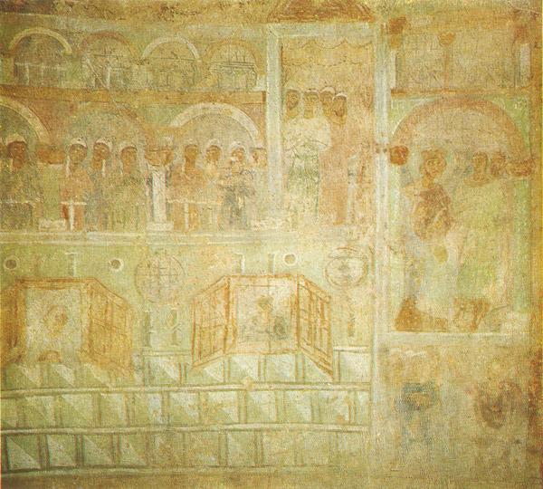 Иподром фреска София Киевская