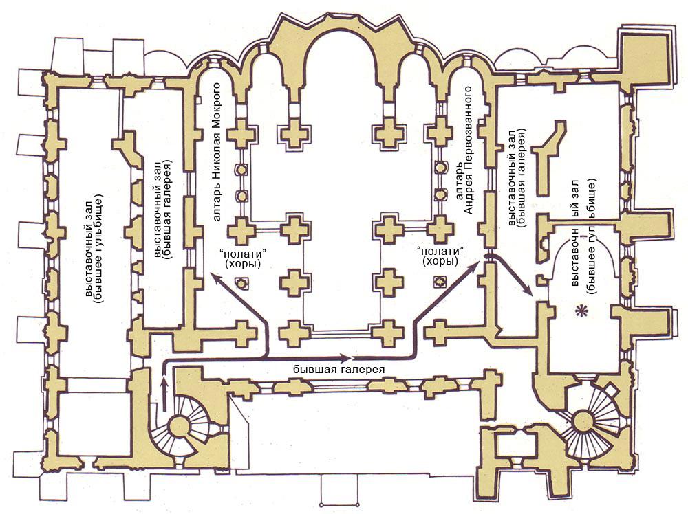 план софийского собора Второй
