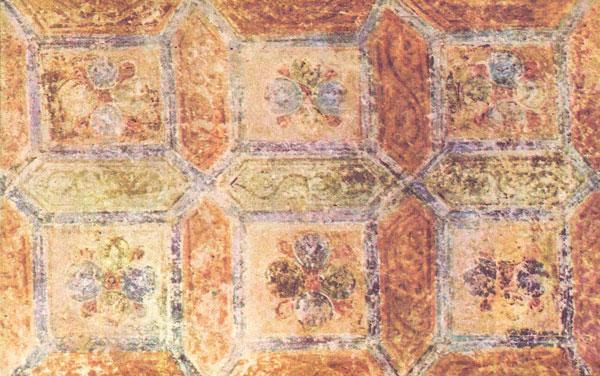 фреска орнамент Софийский Собор