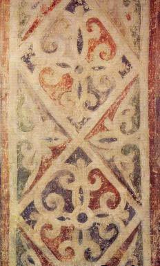 фреска орнамент Фрагмент Софийский Собор