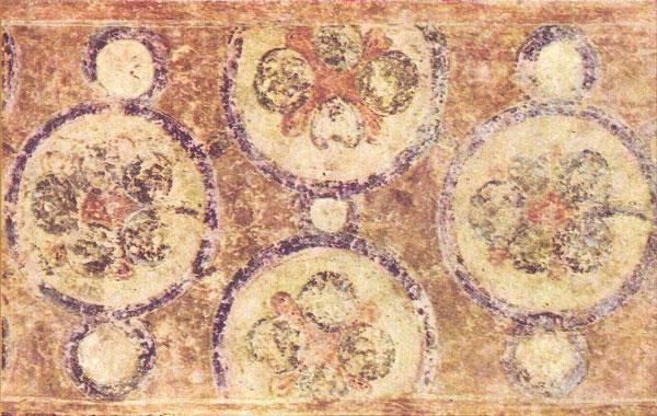 орнамент фреска Софийский Собор