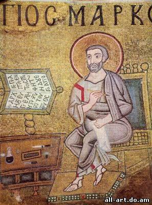 Мозаика Евангелист Марк Софийский Собор