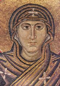 Мозаика Оранта деталь Софийский Собор