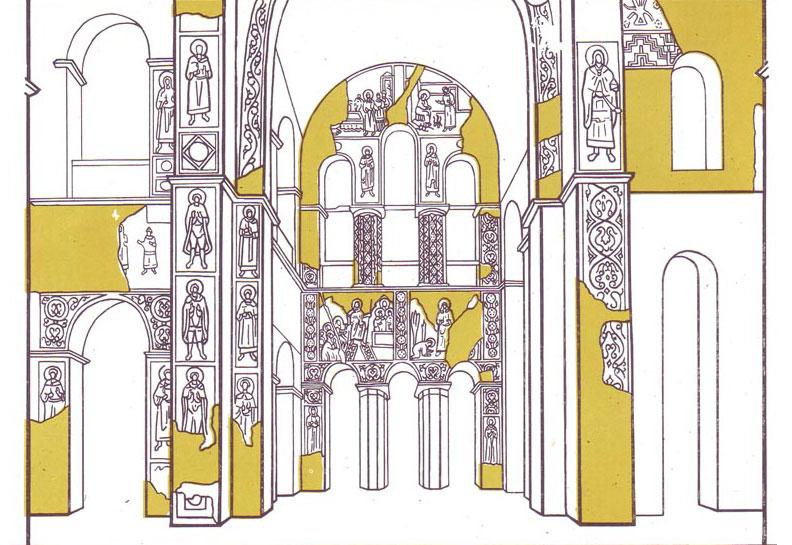 фреска Софийский Собор