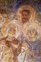 Сошествие во ад. Пророки. Фрагмент. фреска Софийский Собор