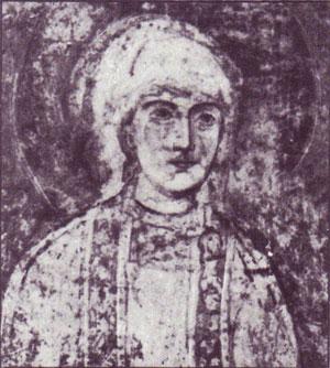 Портрет семьи Ярослава Мудрого фреска Софийский Собор