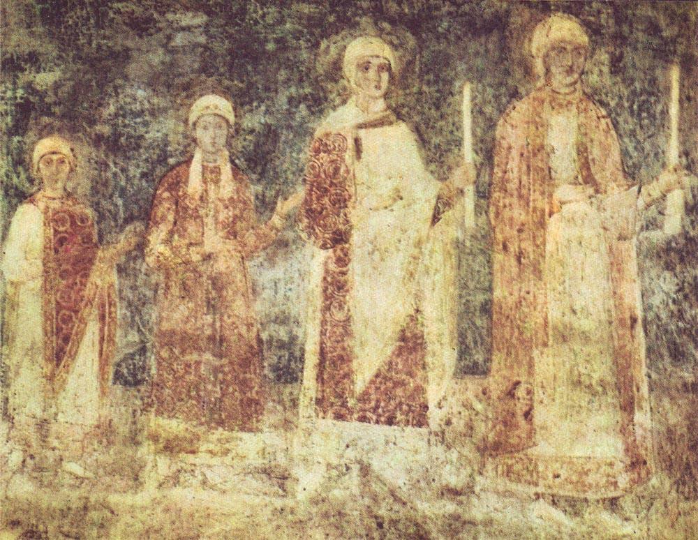 фрески софии киевской википедия