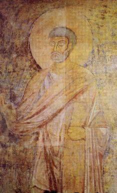 фреска Апостол Петр Софийский Собор