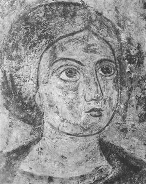 фреска Сцена из Жития Петра Софийский Собор