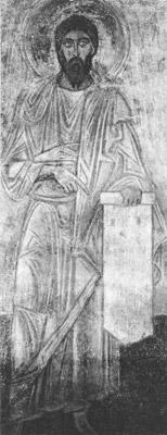 фреска Пророк Софийский Собор