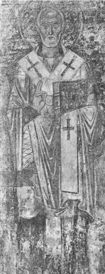 фреска Святой Николай Софийский Собор