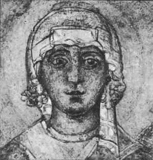 фреска Святая Варвара Софийский Собор