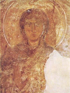 фреска Святая Надежда Софийский Собор