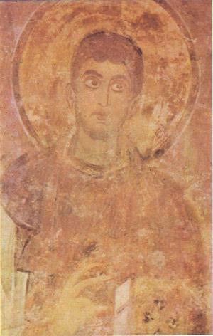 фреска Святой Филипола Софийский Собор