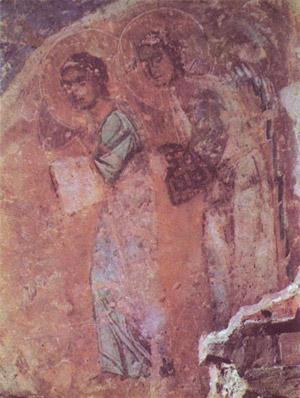 фреска Крещение Софийский Собор