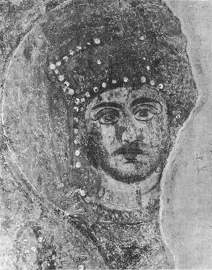 фреска Император Константин Софийский Собор
