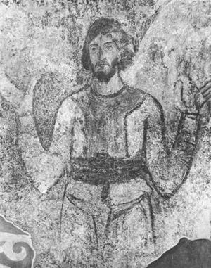 фреска Фигура князя Софийский Собор