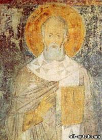фреска Григорий Богослов Софийский Собор