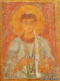 фреска Святой Ермилос Софийский Собор