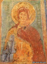 фреска Святой Виктор Софийский Собор