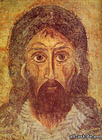 фреска Иоанн Предтеча Софийский Собор