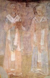 фреска Святители Софийский Собор