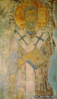 фреска неизвестный святитель Софийский Собор