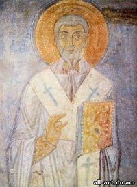 фреска Святой Панкратий Фрагмент Софийский Собор