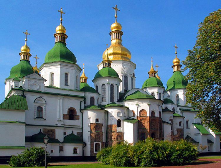 Киевляне будут защищать собор св. Софии